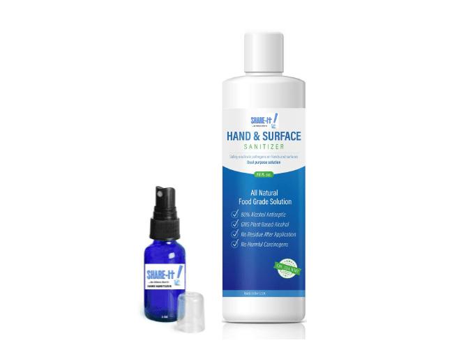 Hand Sanitizer 1 Oz Spray with 16 Oz Refill