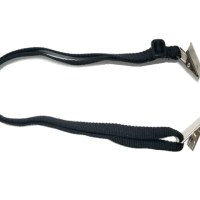 Face Mask Retainer Lanyard with 2 Bulldog Clips