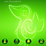 Donwload Fantasy Sci-Fi Theme Green Poultry Wallpaper