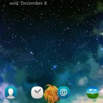 Unduh Tema Android C Launcher Star Night Sky 7