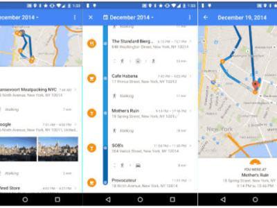 menghapus riwayat google map