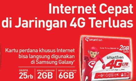 Keuntungan Menggunakan Kartu Khusus Internet Smartfren 4G LTE