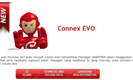Pilihan Paket Internet CONNEX EVO