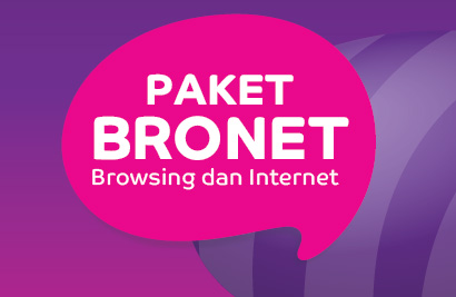 Paket Internet BRONET Dari AXIS