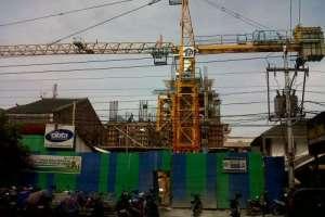 Konstruksi Keren dengan Rental Tower Crane