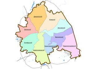Административные районы города Харькова-000