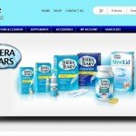 Eye Care Products website