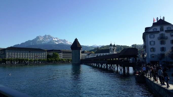 kota wisata terindah di swiss lucerne