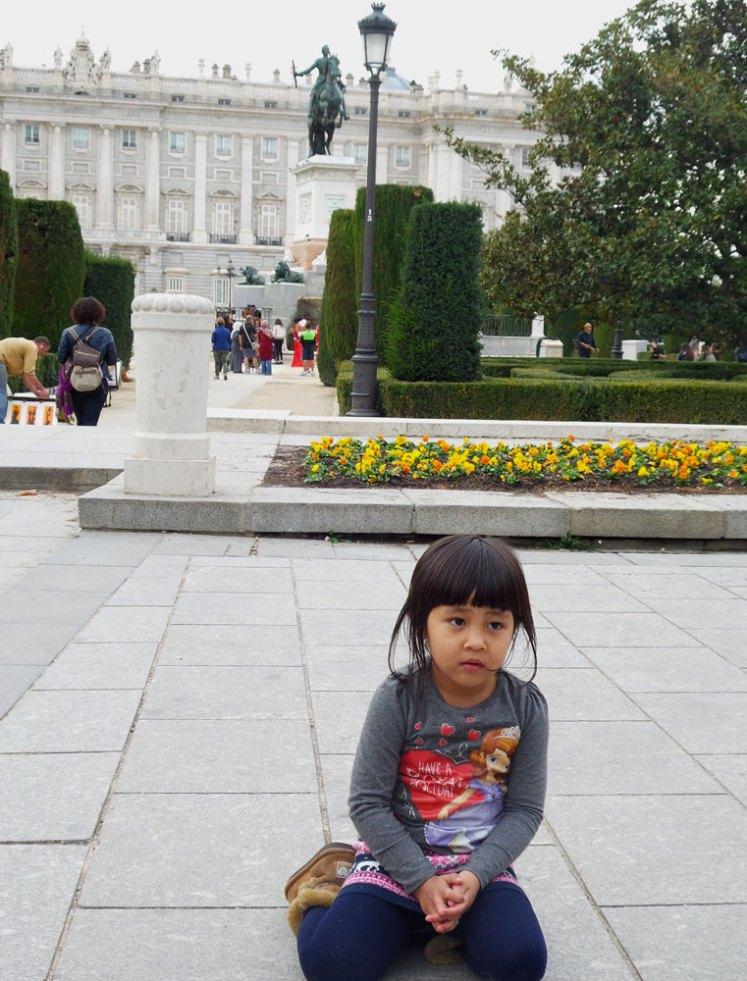 istana kota madrid di spanyol