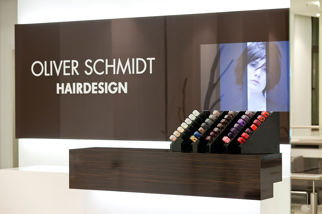 Friseureinrichtung, Friseurbedarf, Oliver Schmidt