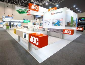 展示会出展ブース実績例 日揮株式会社 (JGC) -2