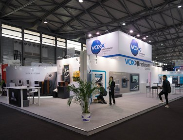 Voxx International Exhibit by Idea International, Inc.
