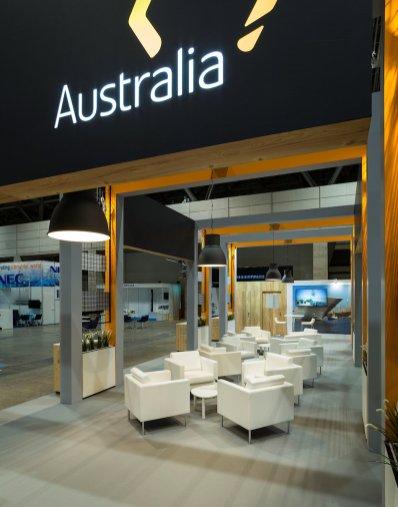 Australia Defense MAST Exhibit CHIBA Japan by Idea International, Inc.