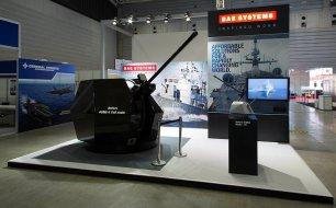 BAE Systems Exhibit at MAST Yokohama Japan by Idea International, Inc.