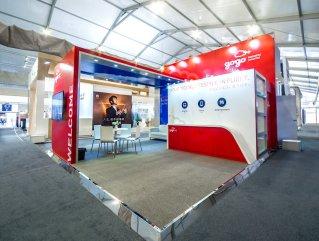 GOGO Inflight Exhibit at ABACE Shanghai by Idea International, Inc.