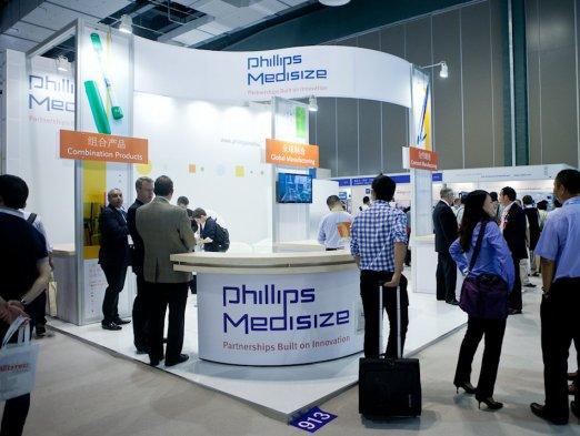 Phillips Medisize Exhibit at APEX Shanghai by Idea International, Inc.
