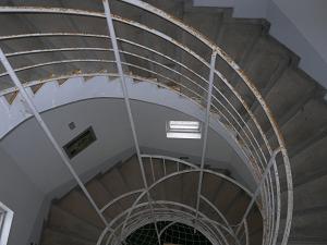 灯台のらせん階段