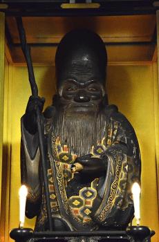 福禄寿の像