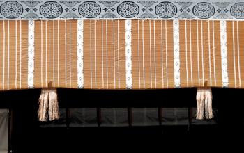 京都御所の御簾