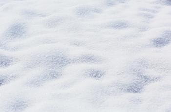 深く積もった雪