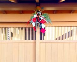 門構えのお正月飾り
