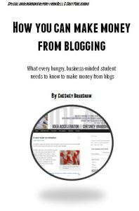 How you can make money from blogging