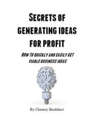 Secrets of generating ideas for profit