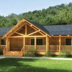 44 Best Log Cabin Homes Plans One Story (14)