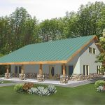 44 Best Log Cabin Homes Plans One Story (24)