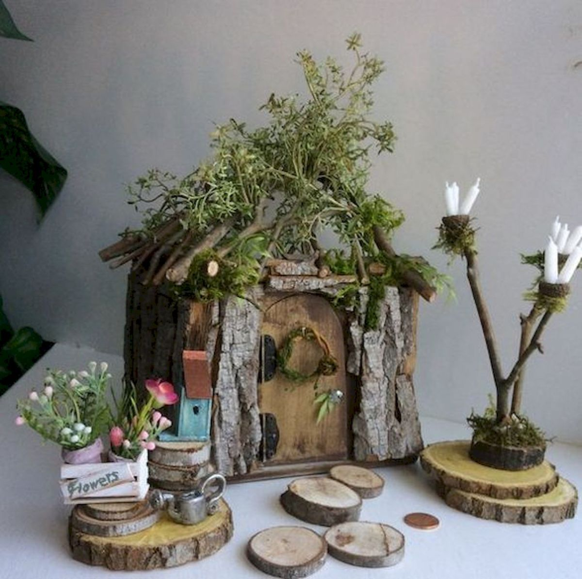 45 Beautiful DIY Fairy House Design Ideas (3)