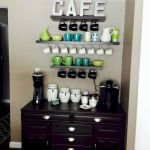 60 Best Mini Coffee Bar Ideas for Your Home (22)