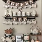 60 Best Mini Coffee Bar Ideas for Your Home (5)