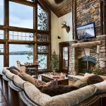 63 Best Log Cabin Homes Fireplace (53)