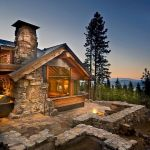 63 Best Log Cabin Homes Fireplace (63)