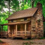 66 Best Small Log Cabin Homes (36)
