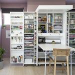 40 Stunning Craft Room Cabinets Decor Ideas and Design (35)