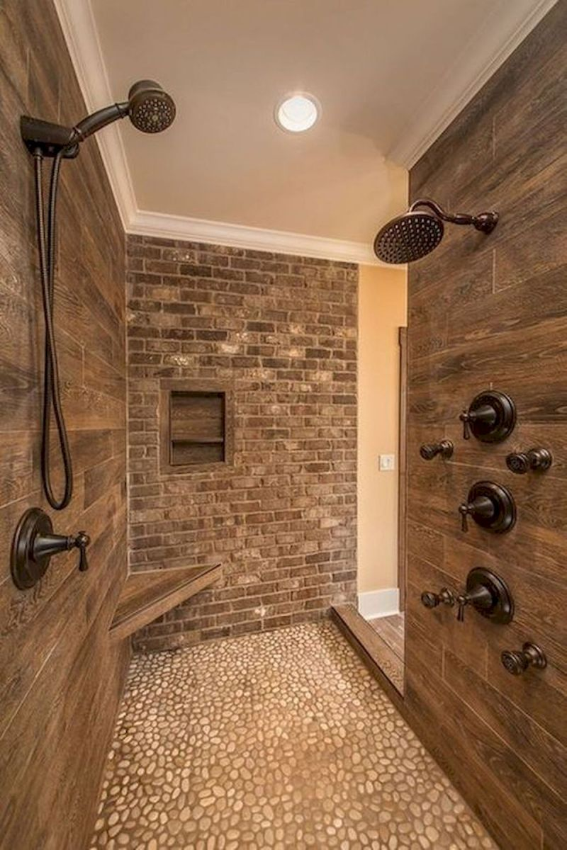 50 Fantastic Walk In Shower No Door for Bathroom Ideas (3)