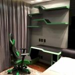 50 Stunning Computer Gaming Room Decor Ideas and Design (23)