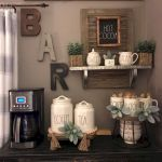 60 Amazing Mini Coffee Bar Ideas for Your Home (34)