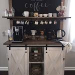 60 Amazing Mini Coffee Bar Ideas for Your Home (44)