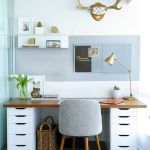 60 Favorite DIY Office Desk Design Ideas and Decor (44)