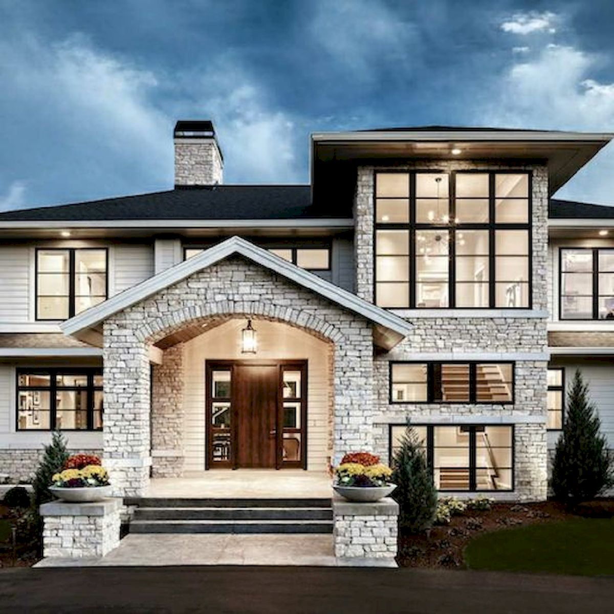 30 Contemporary Home Exterior Design Ideas: 60 Most Popular Modern Dream House Exterior Design Ideas
