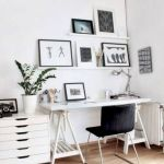 80 Amazing DIY Art Desk Work Stations Ideas and Decorations (54)