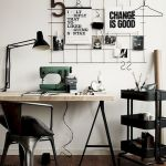 80 Amazing DIY Art Desk Work Stations Ideas and Decorations (67)