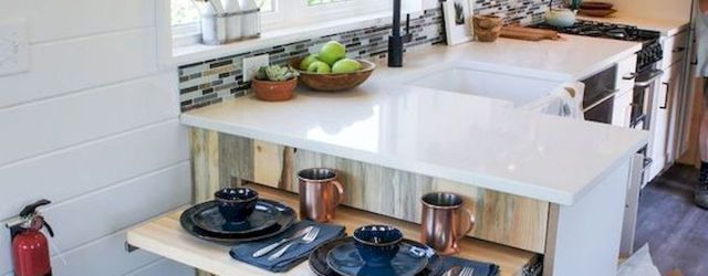 44 Best Studio Apartment Kitchen Decor Ideas (35)