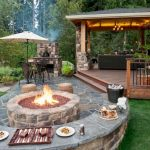57 Awesome Backyard Fire Pit Ideas (6)