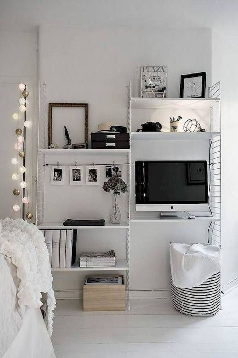 66 Studio Apartment Storage Decor Ideas (30)