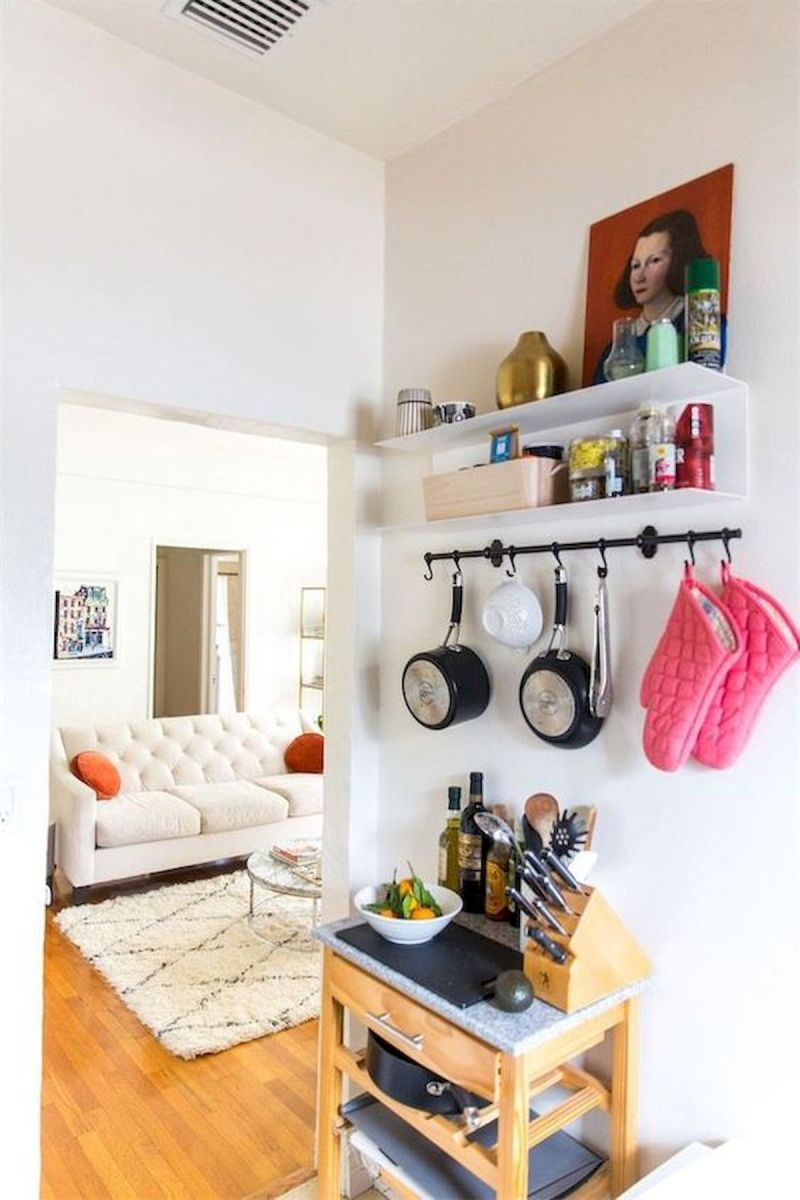 66 Studio Apartment Storage Decor Ideas (34)