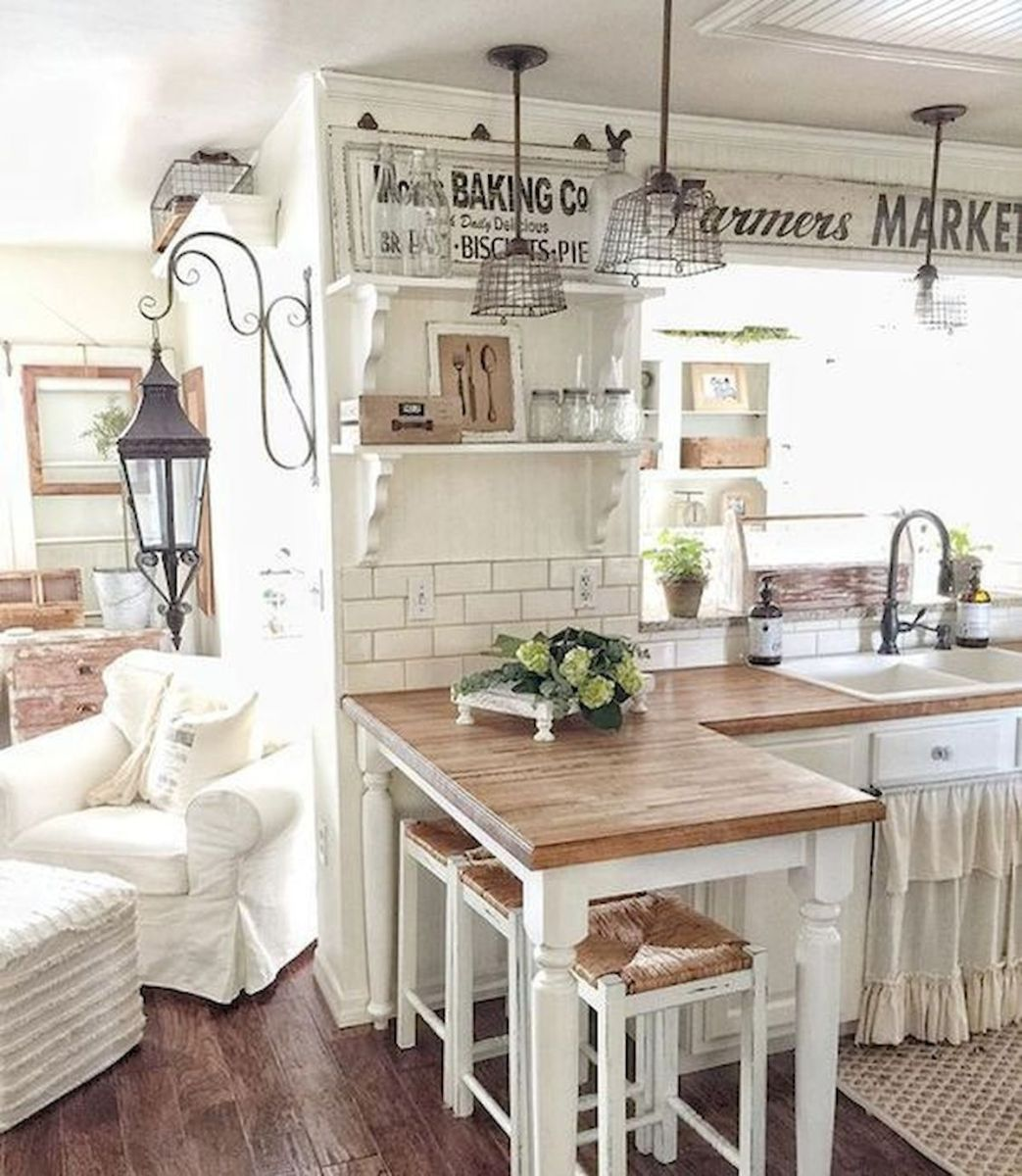 37 Farmhouse Wall Decor Ideas for Kitchen (10)