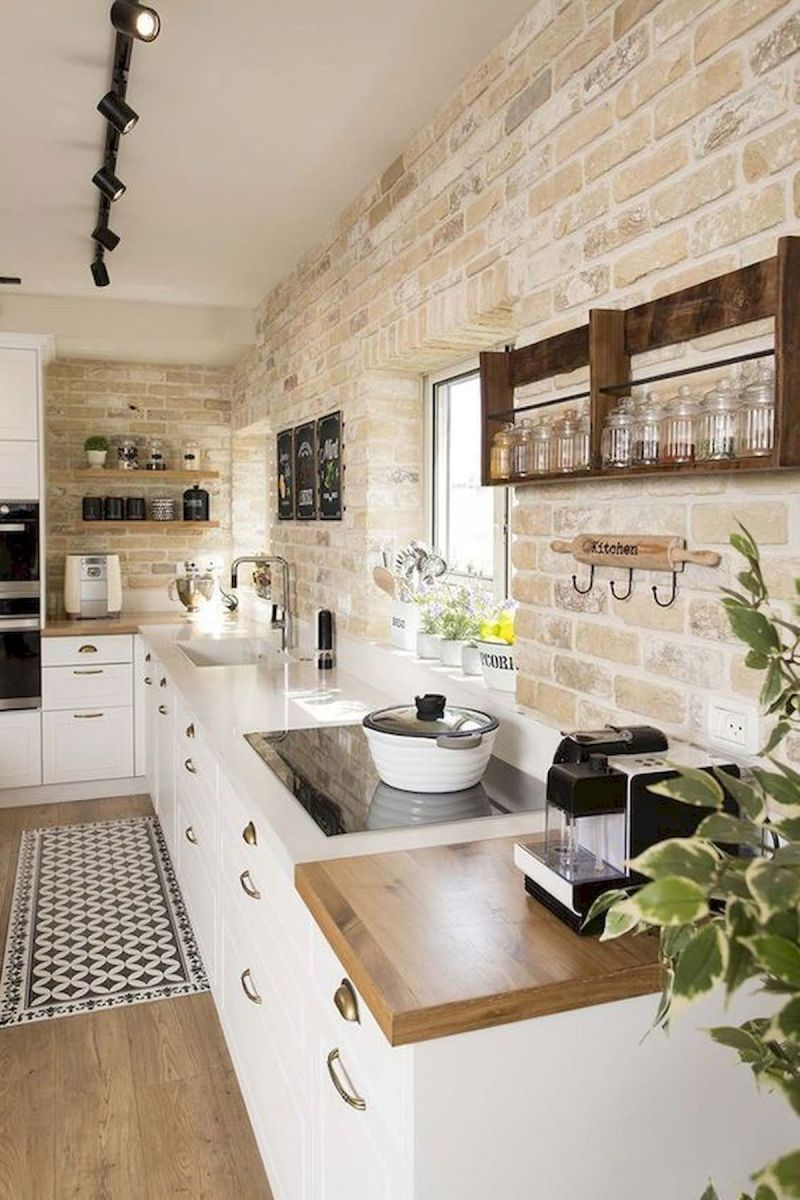 37 Farmhouse Wall Decor Ideas for Kitchen (12)